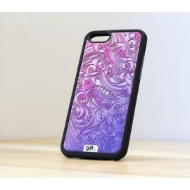 Coque de smartphone fractal-tattoo-pink-face