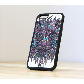 Coque de smartphone lion-face