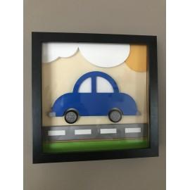 Tableau voiture chambre pour enfant