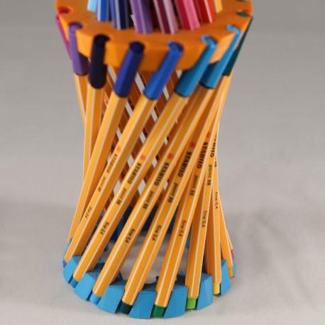 Porte crayon spirale