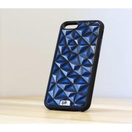 Coque de smartphone tripoly-blue-face