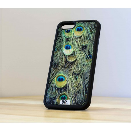 Coque de smartphone paon-face
