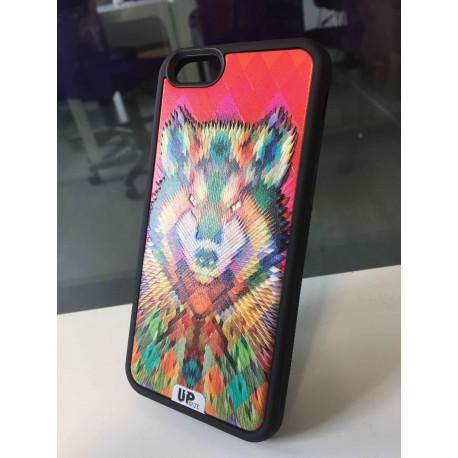 Coque de smartphone Pixel-Wolf