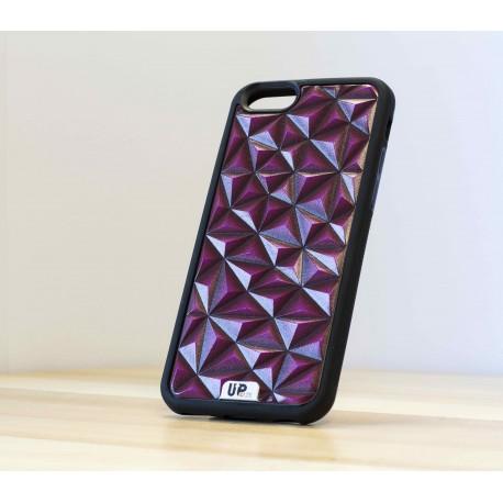 Coque de smartphone tripoly-purple-face