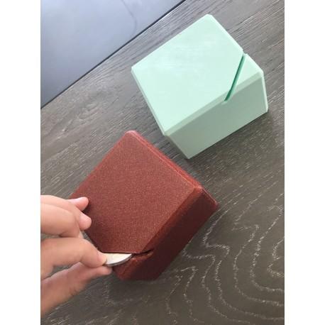 Tirelire cube personnalisable