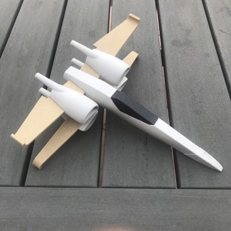 Porte manteau Baleine 3D personnalisable