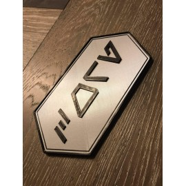 Personalized 3D Aurebesh Door Name