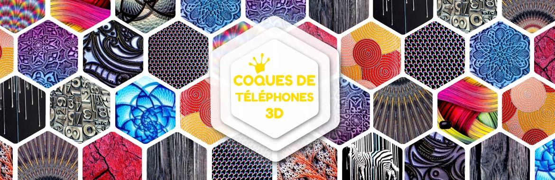 coques personnalisables en 3D