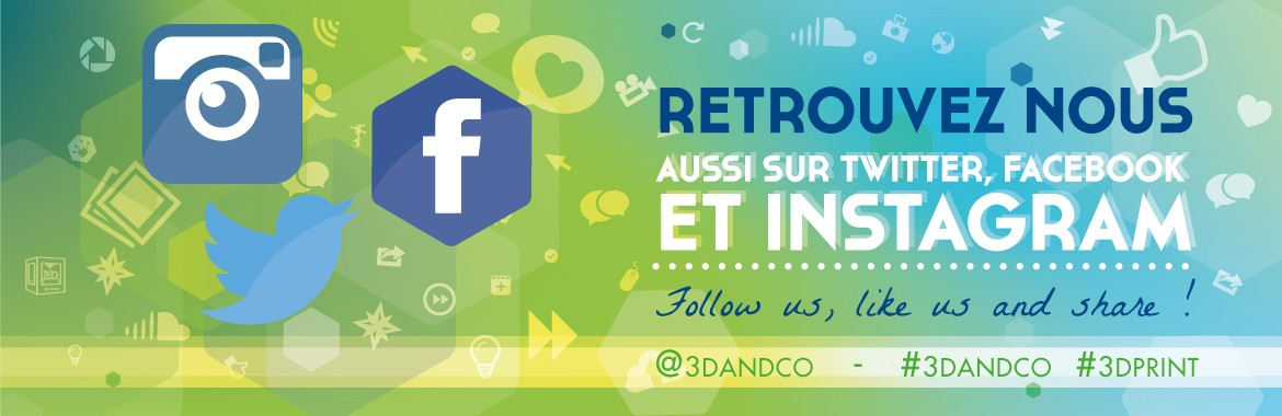 Facebook 3DandCO impression 3D